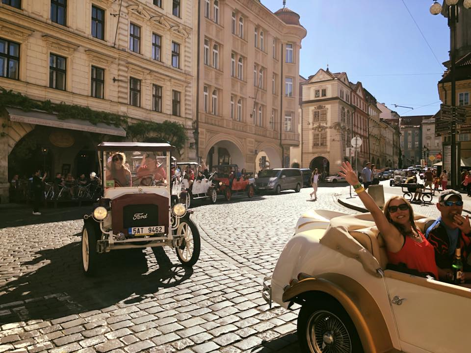 Touring Prague in style!