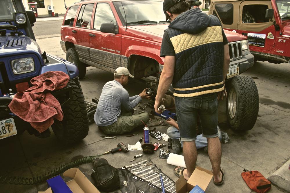 Axle Repairs