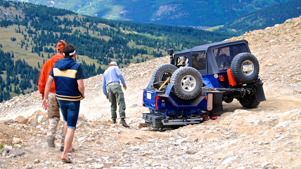 Rollover on Mosquito Pass
