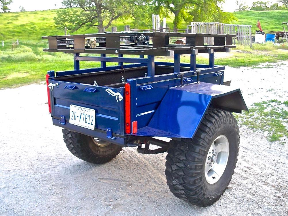 very attractive trailer build kits. Finish2 jpg HF01  Pioneer build