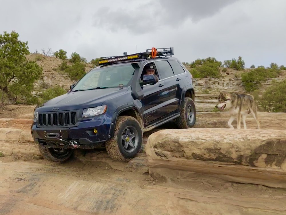 Sate your curiosity about the Flatwater Overland WK2 Grand Cherokee....