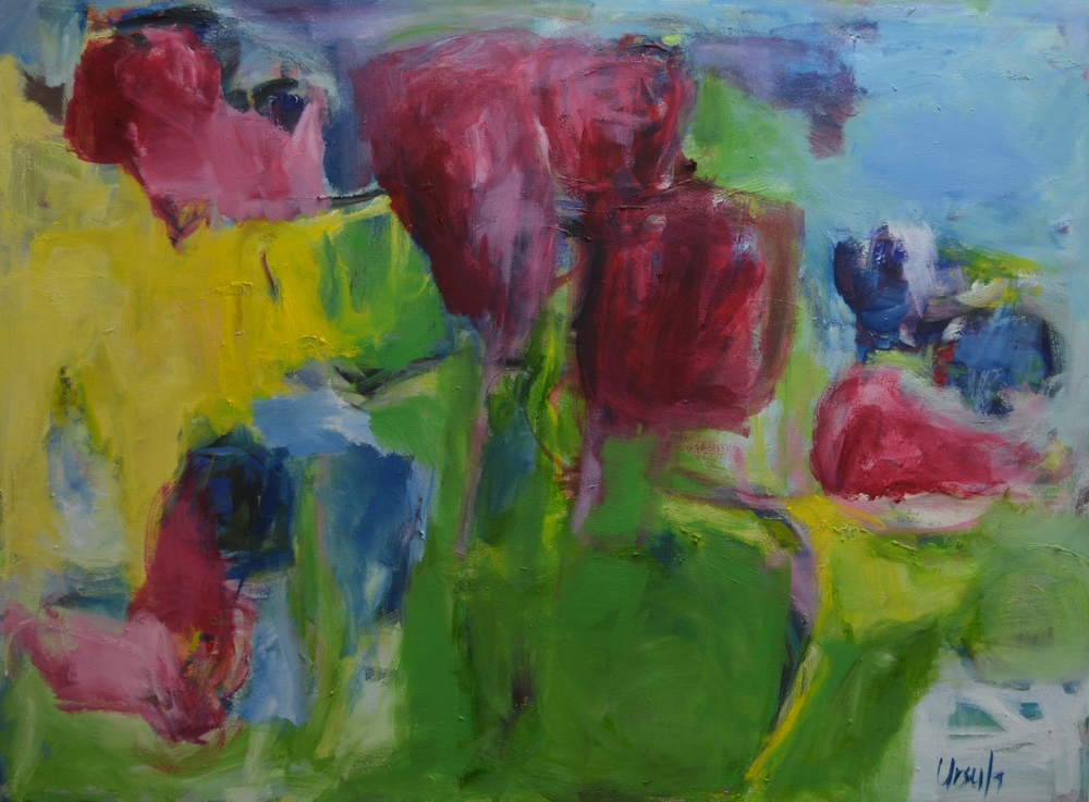 blooming joy              36x48                   oil on canvas.JPG