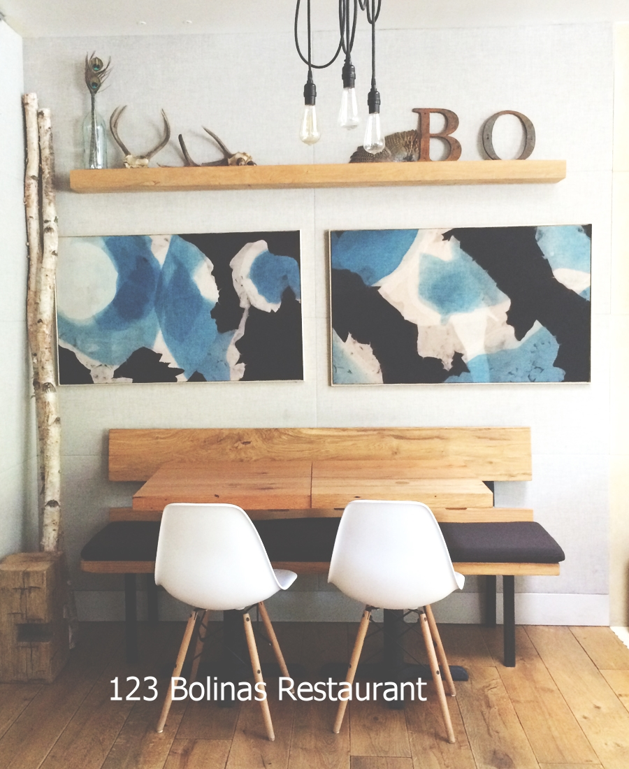 123 Bolinas Restaurant tables