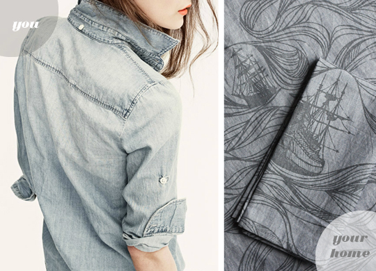 shirt / napkins