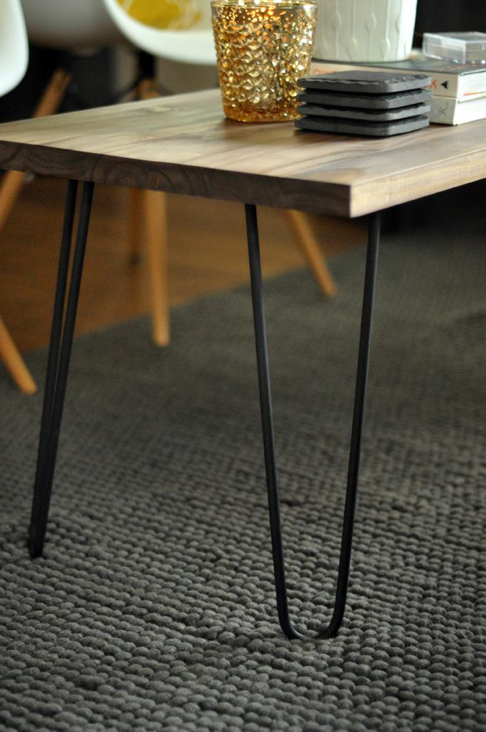 DIY Hairpin Leg Coffee Table - Jaymee Srp
