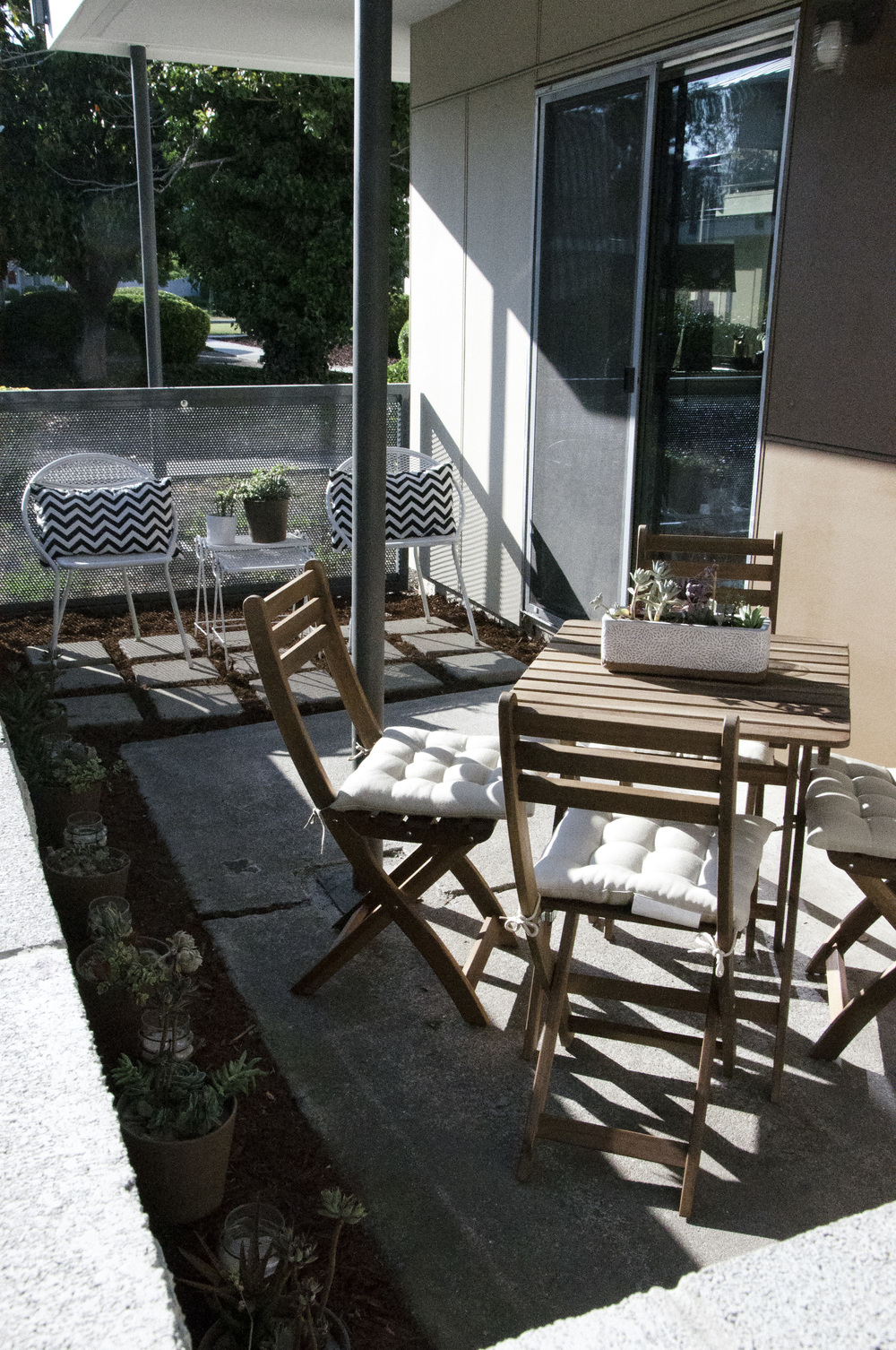 Small Outdoor Patio Space