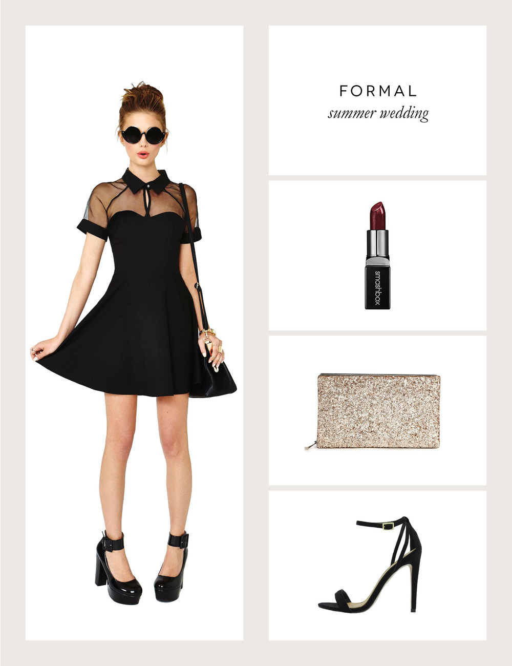 Formal Summer Wedding Outfit