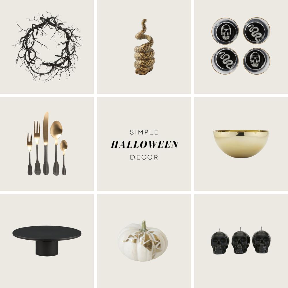 Simple Halloween Decor