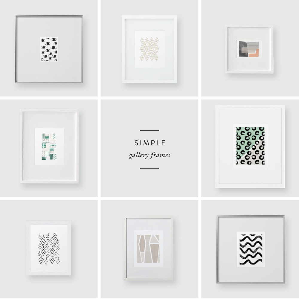 simple gallery frames