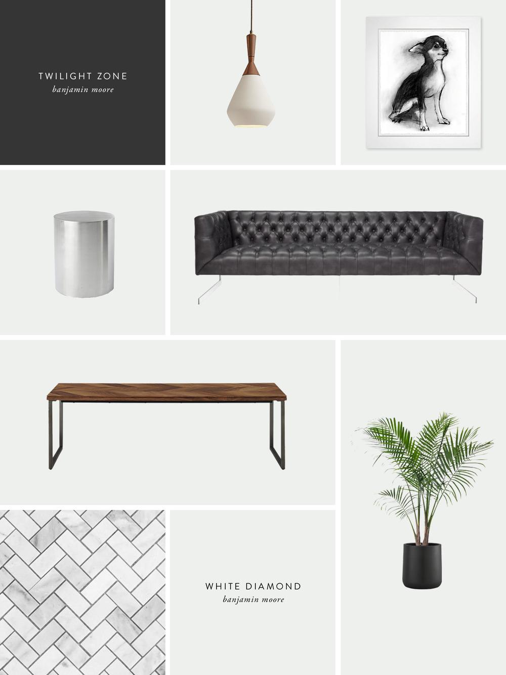 Organic Glam Interior Inspiration