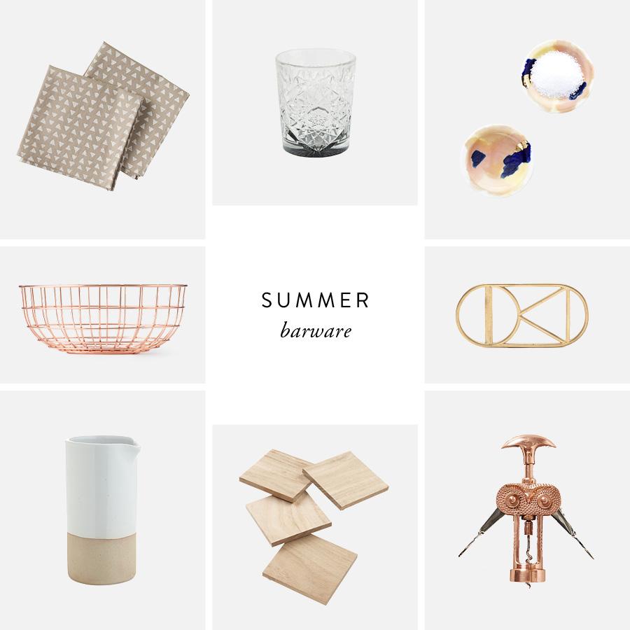 Summer Barware