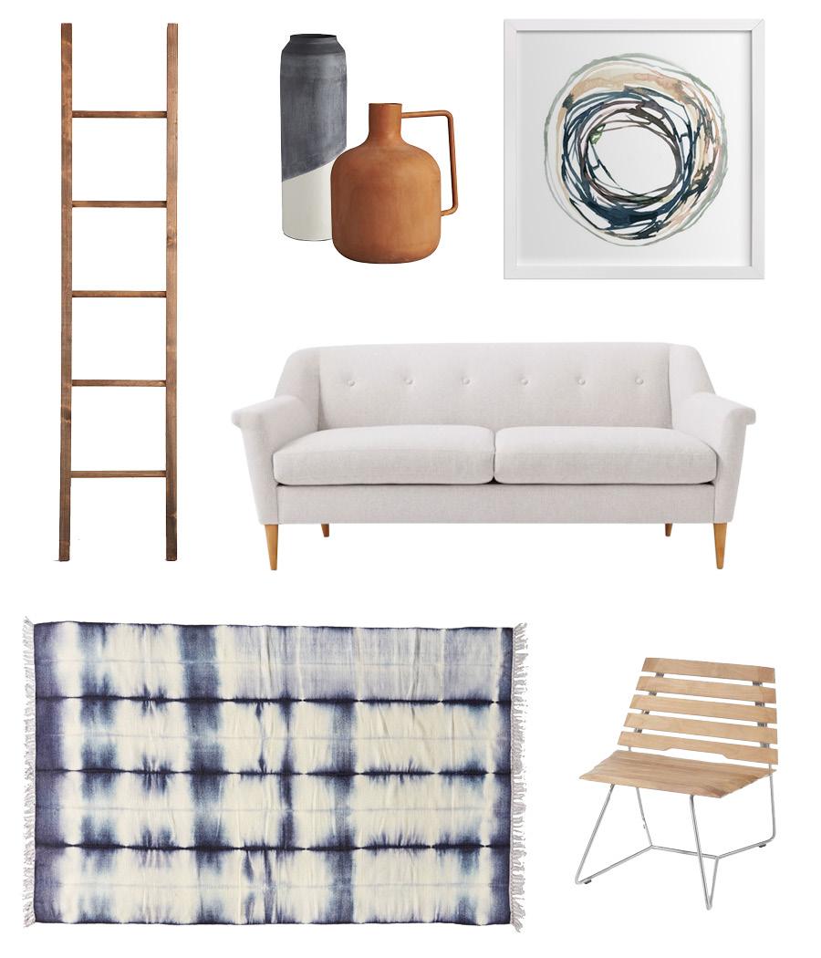 Ocean Inspired Living Room