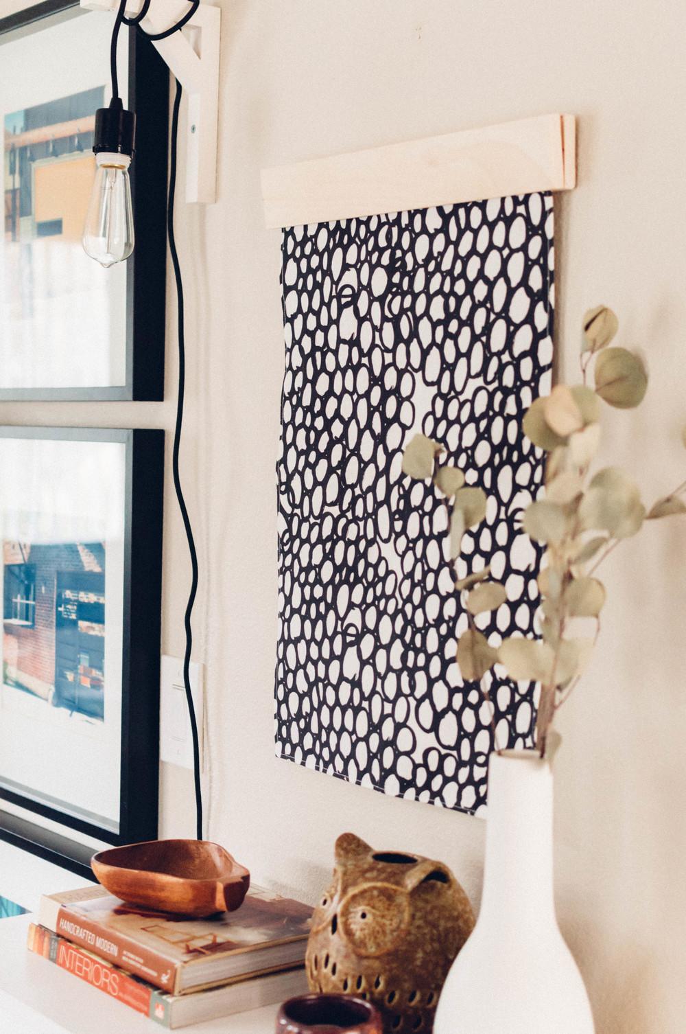 Simple DIY Tea Towel Cleat