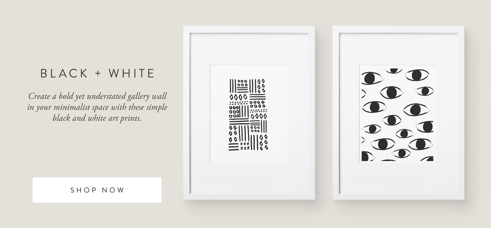 Black and White Art Prints