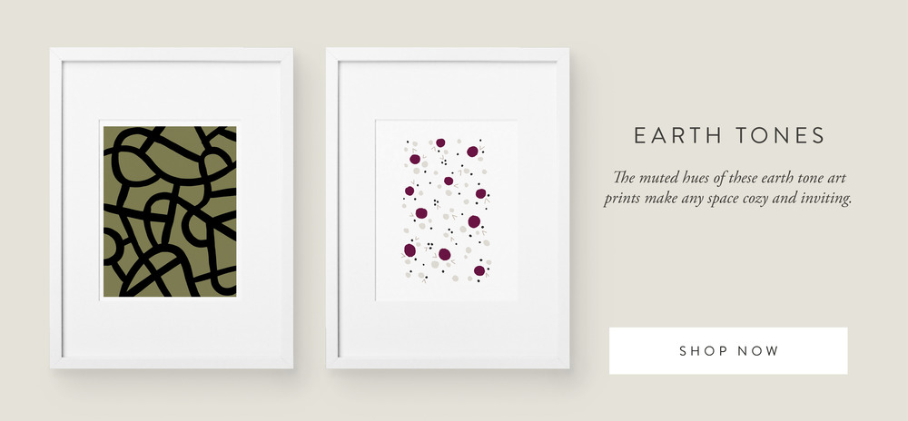 Earth Tone Art Prints