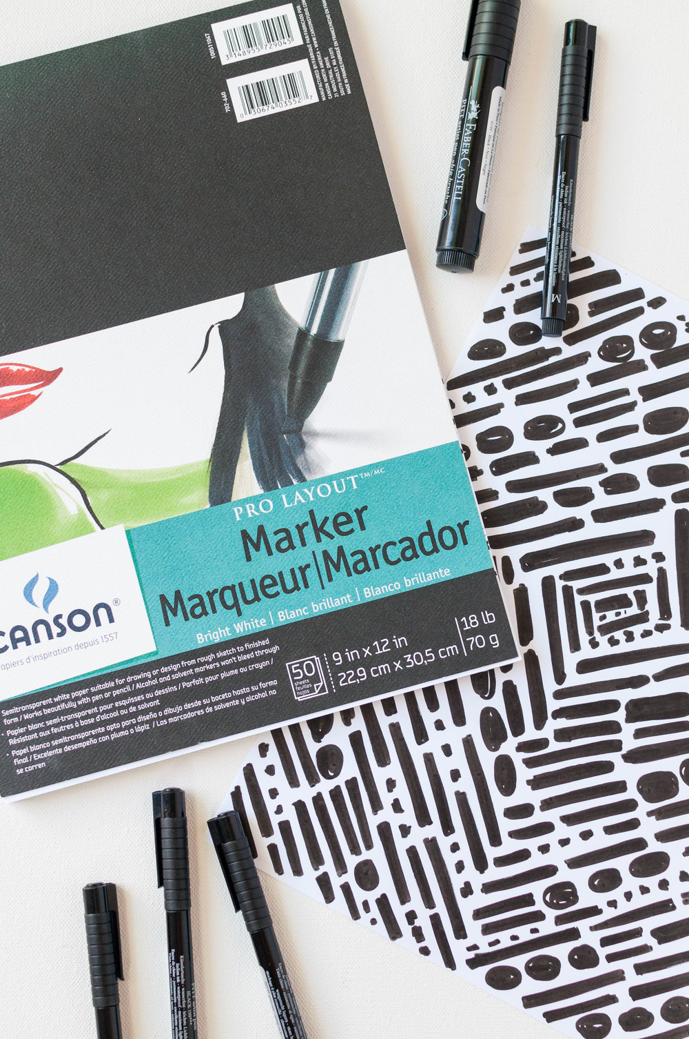 Markers for Surface Pattern Design