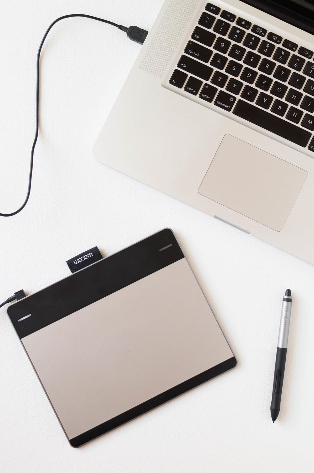 Wacom Tablet for Surface Pattern Design