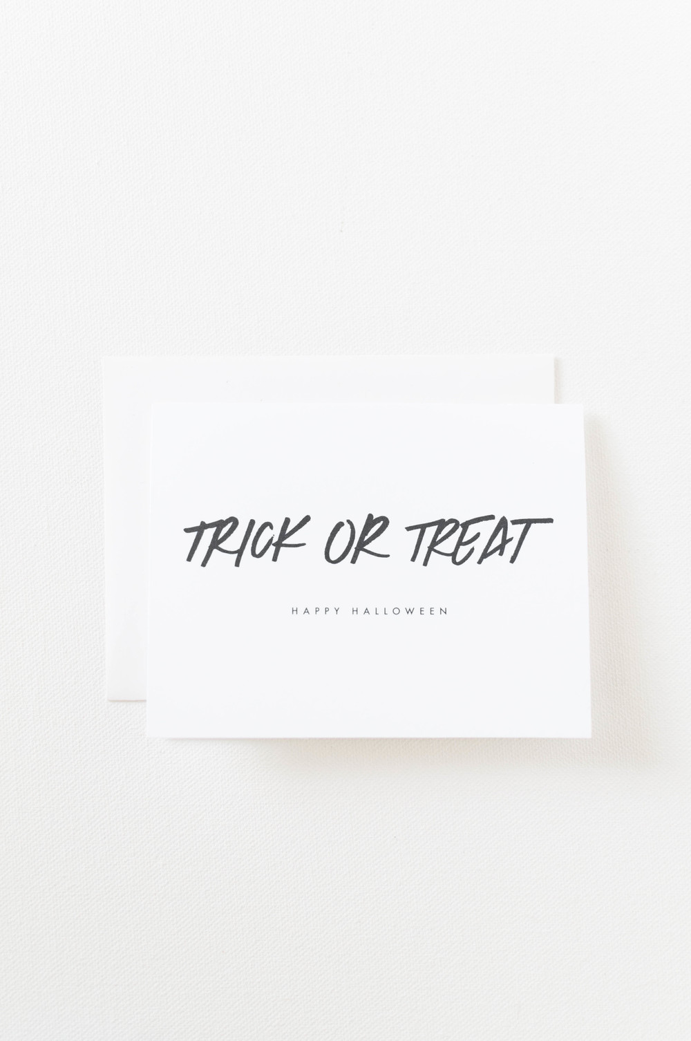 Free Printable Halloween Card.  Click to download.