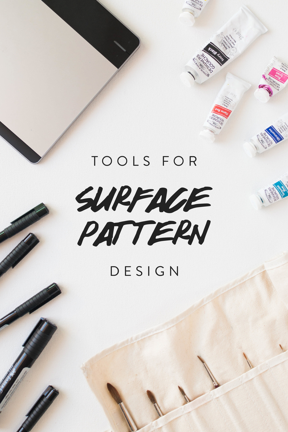 My Favorite Tools for Surface Pattern Design.  Click to learn more.