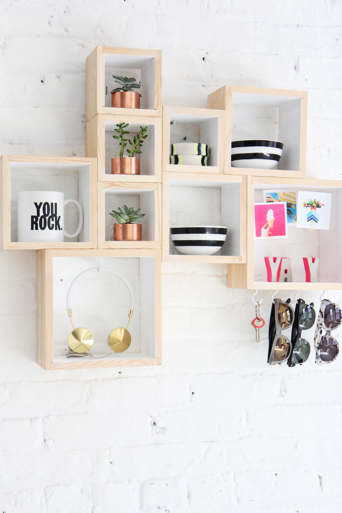 DIY Box Storage from I Spy DIY