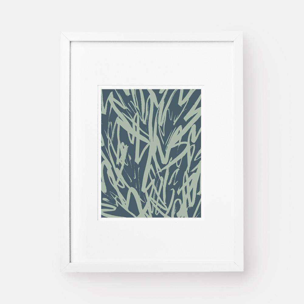 Leaf Art Print by Jaymee Srp