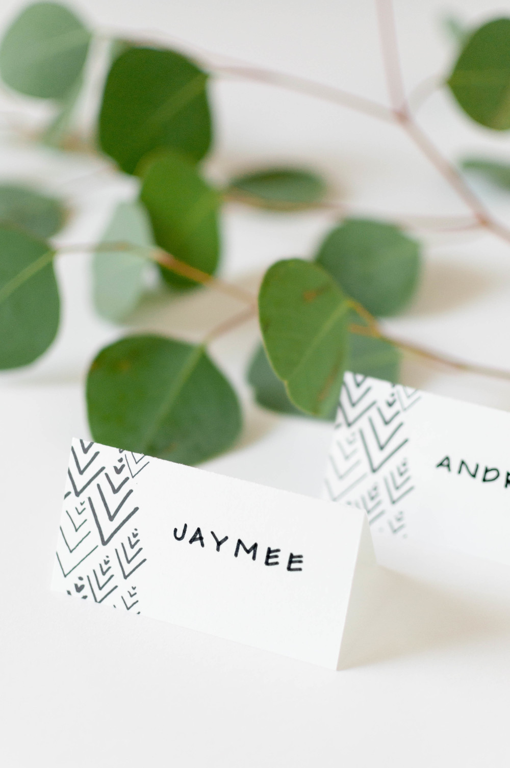 Free Place Card Printables