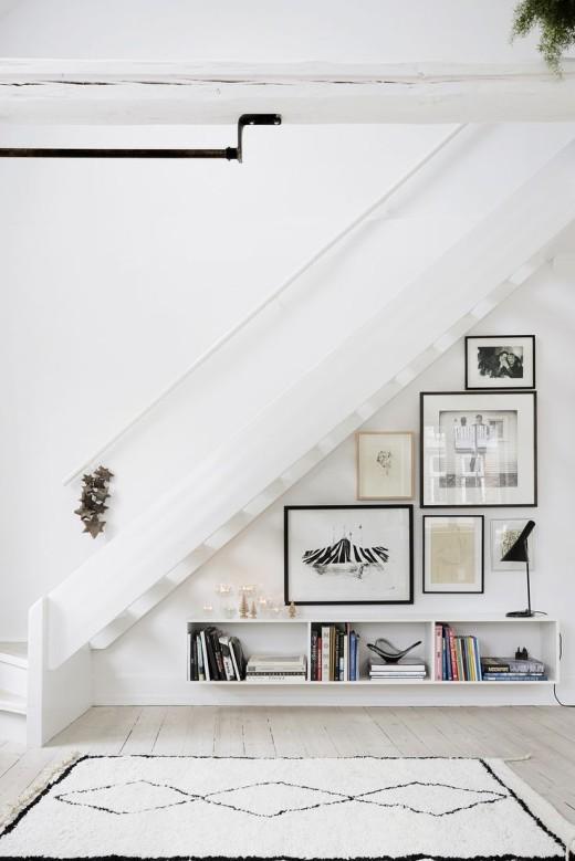 Unique Gallery Wall Arrangement