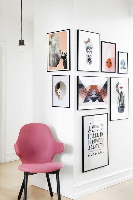 Unique Wall Art Arrangement