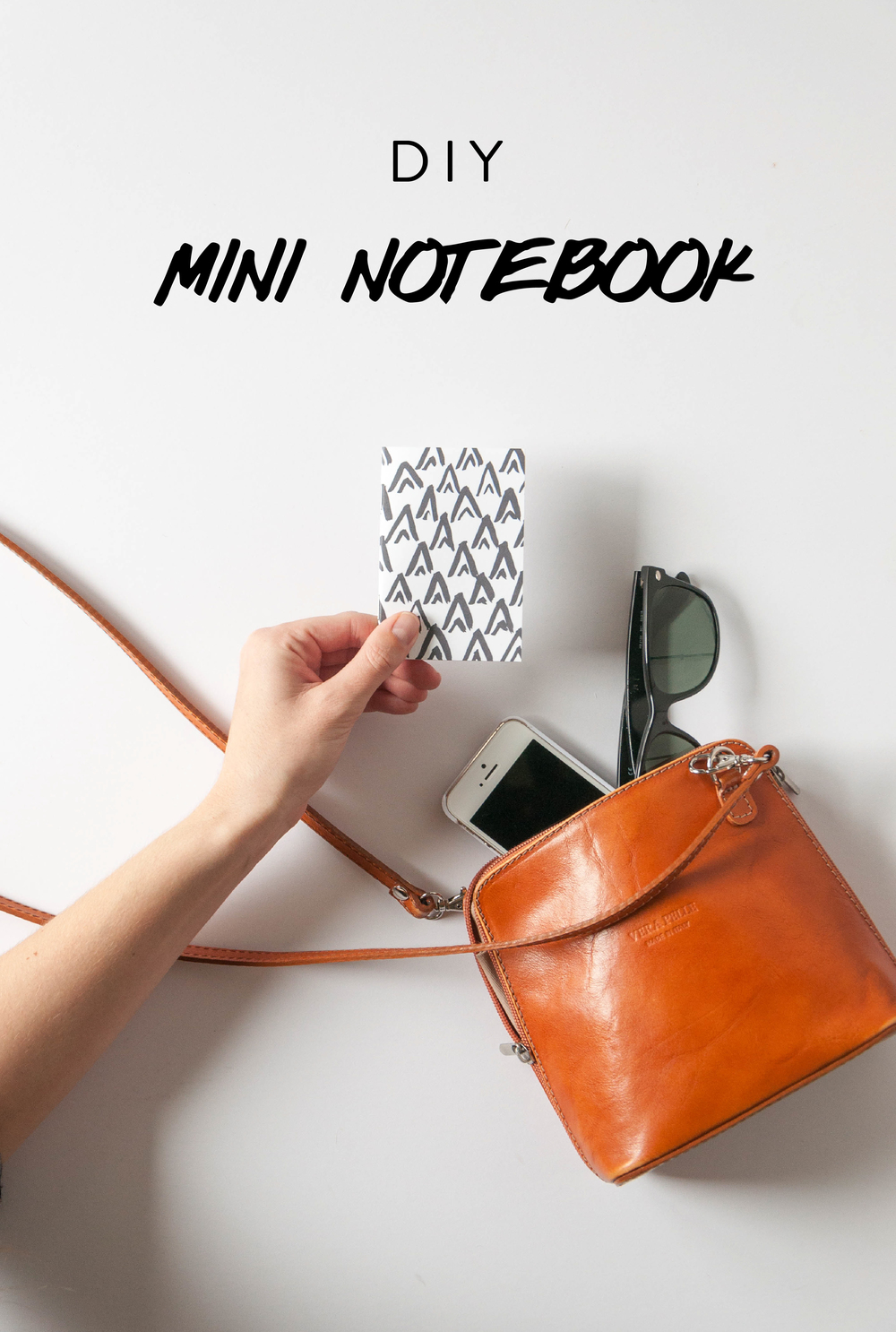DIY Mini Patterned Notebook | Jaymee Srp