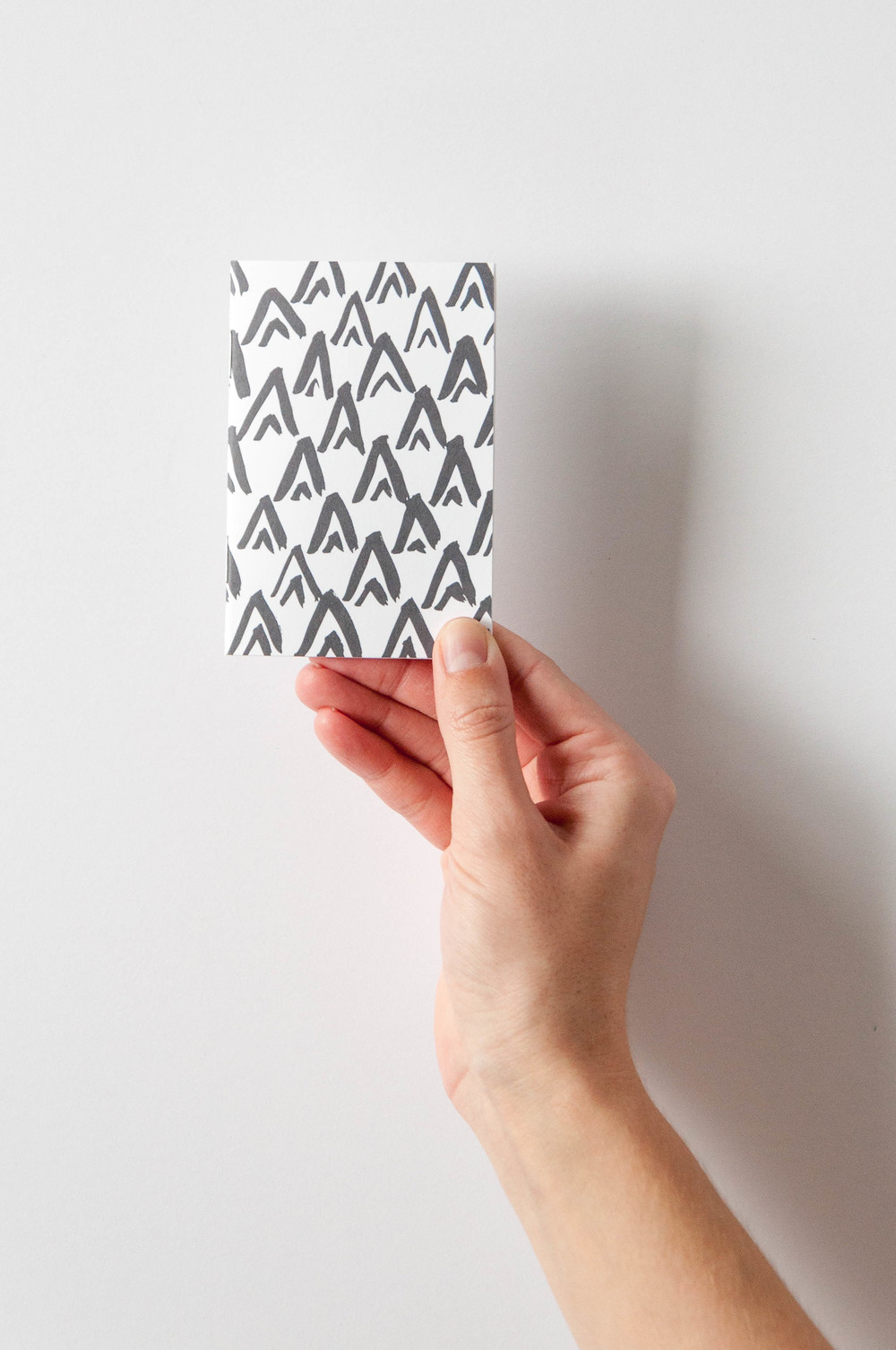 DIY Mini Patterned Notebook