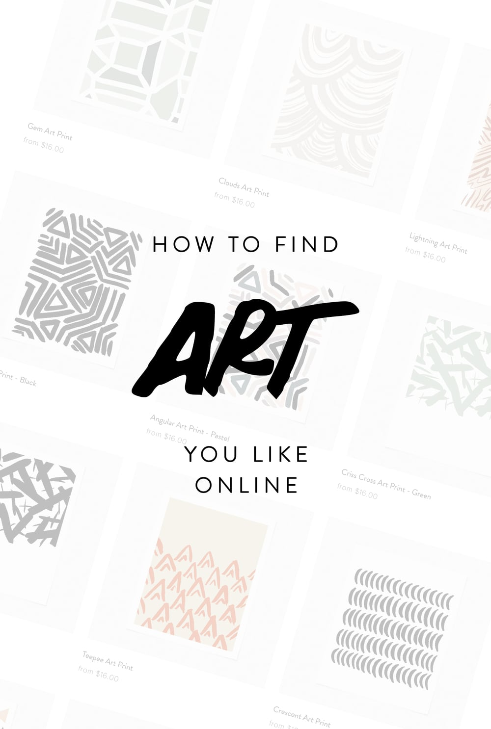How To Find Art You Like Online