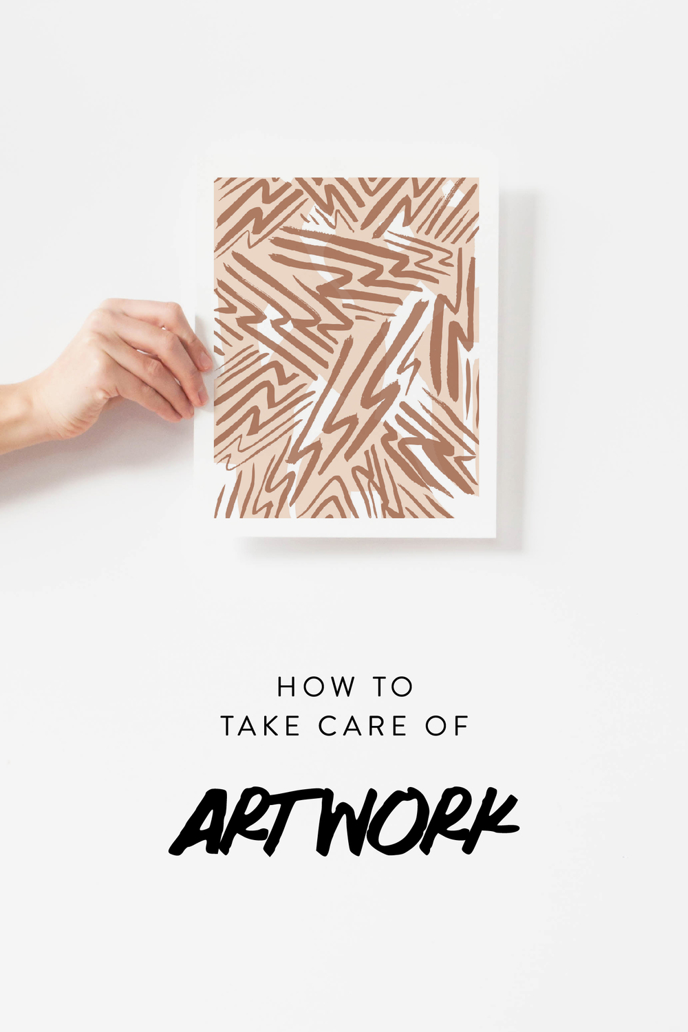 How To Take Care Of Artwork | Jaymee Srp