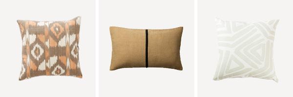 Warm Sofa Styling