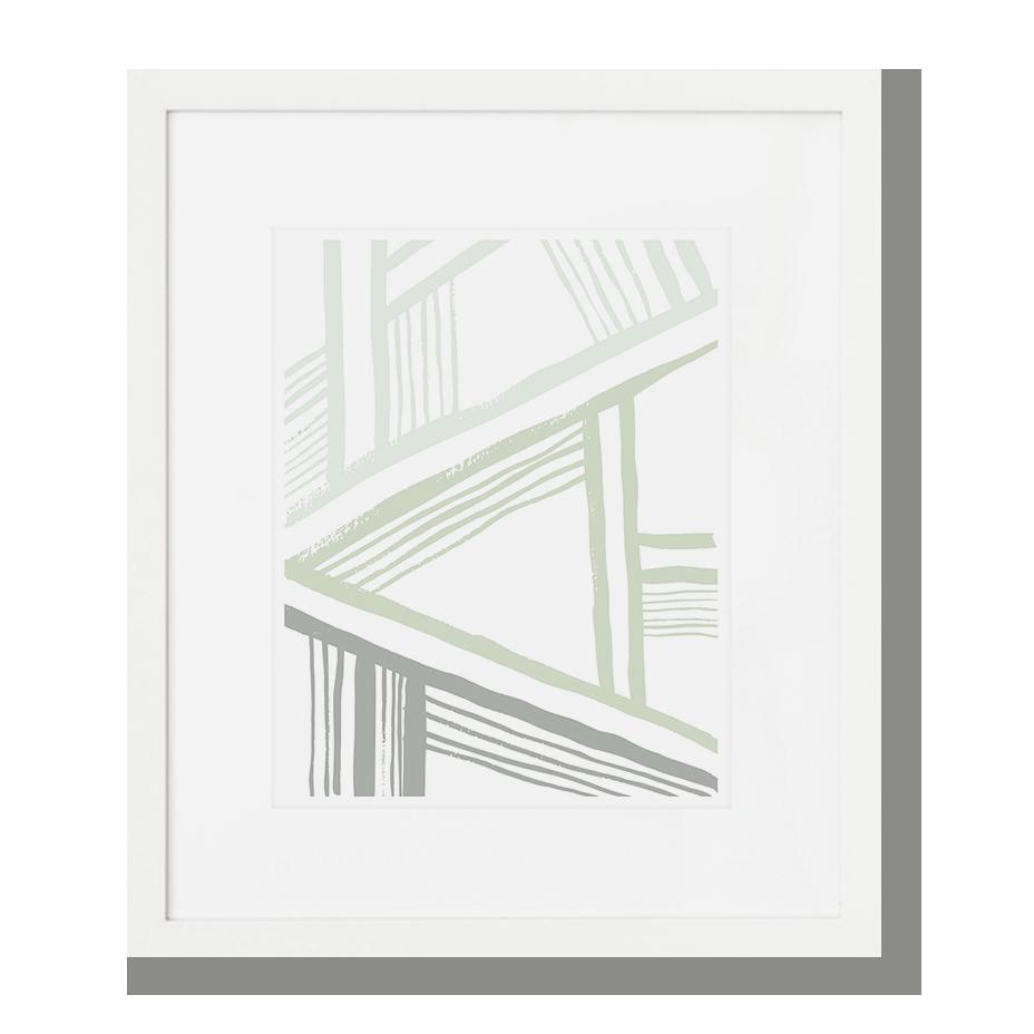 A-Frame Art Print - Sage SHOP NOW >