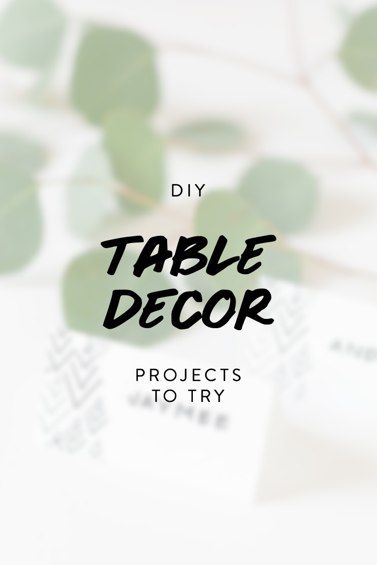 DIY Thanksgiving Table Decor Projects To Try