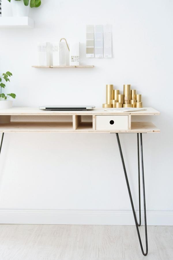 DIY Modern Desk