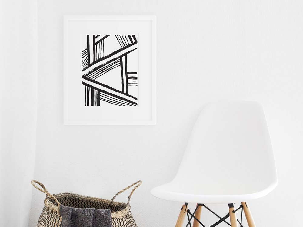 Modern Art Prints - Bring a graphic pop to your walls.
