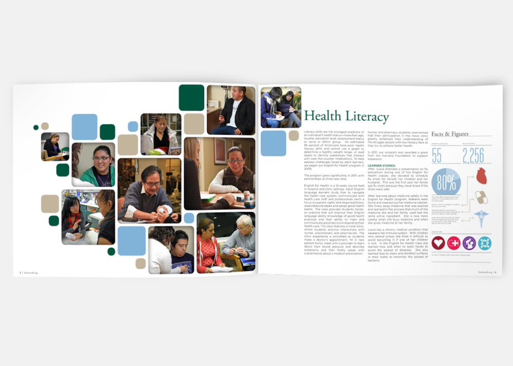 Literacy Network Annual Report (inside)