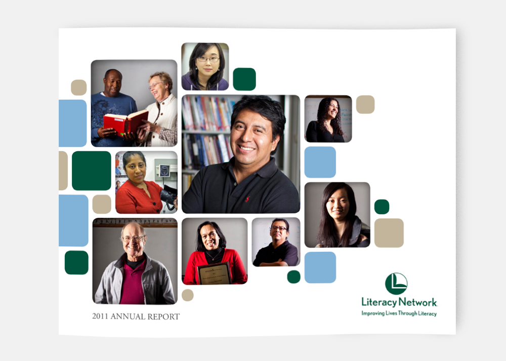 Literacy Network Annual Report (cover)