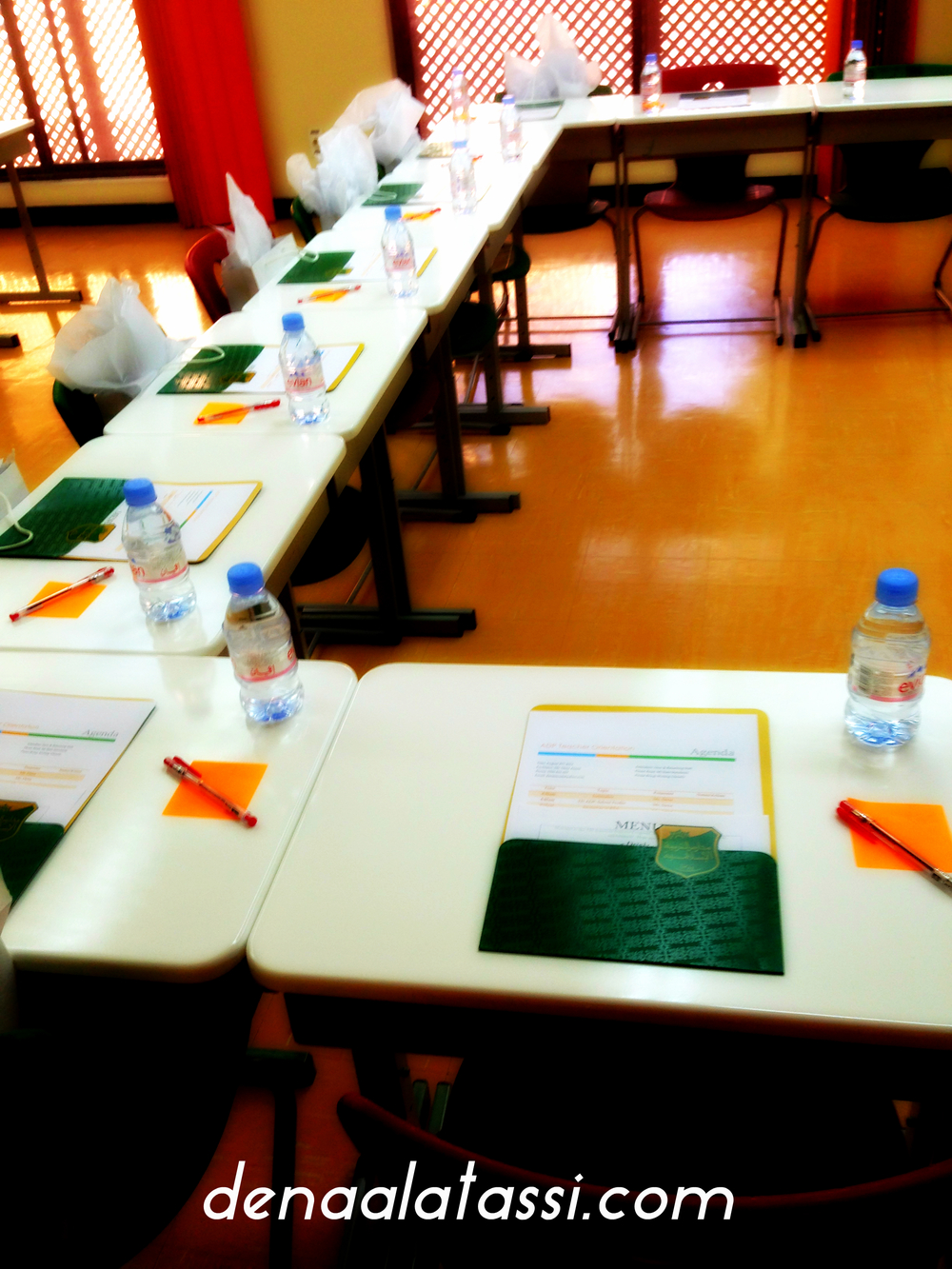 New Teacher Orientation Set-Up in Riyadh, KSA ~ August 2013