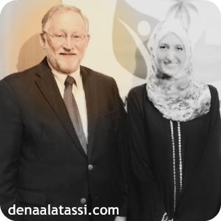 US Ambassador James B. Smith & Me in Riyadh ~ Summer 2012