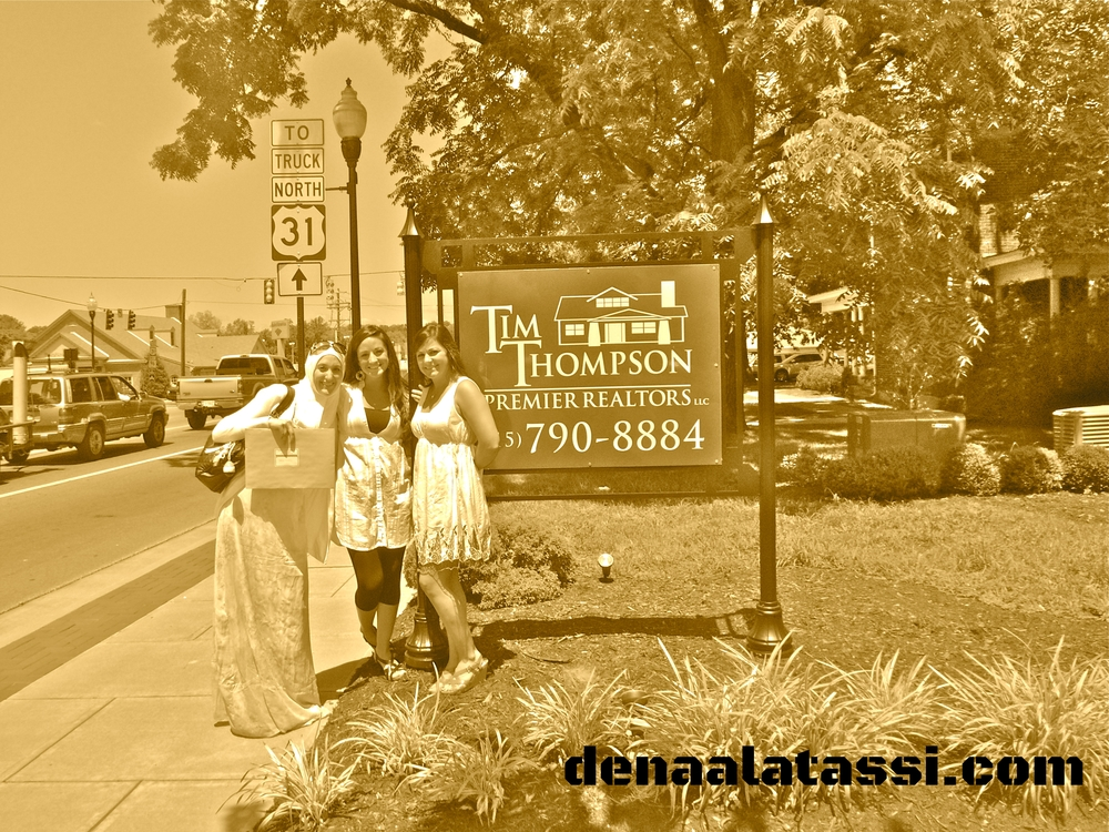 My realtors and I after signing my first property in Franklin, TN ~ Summer 2012