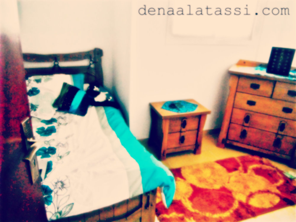 Bedroom in New Arqah Apartment ~ Riyadh, KSA Summer 2012