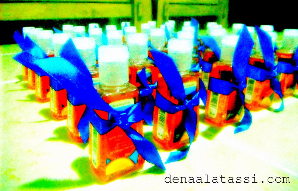 Hand Sanitizer Soldier Gifties! Riyadh, KSA Fall 2011