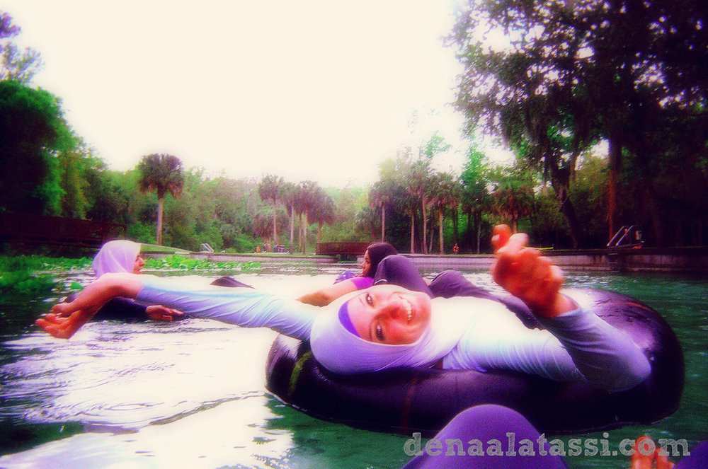 Tubing right before spring break ~ Central Florida, USA 2011