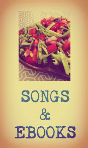 Click here to download songs with deep meaning, Free Syria songs, and writings like Dena's new raw vegan e-book!