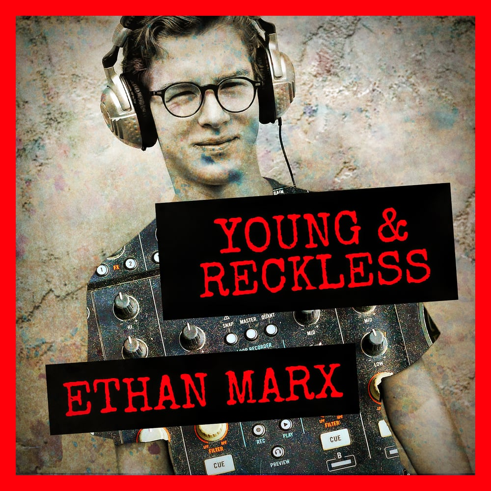 Ethan Marx CD Cover/Graphic Design