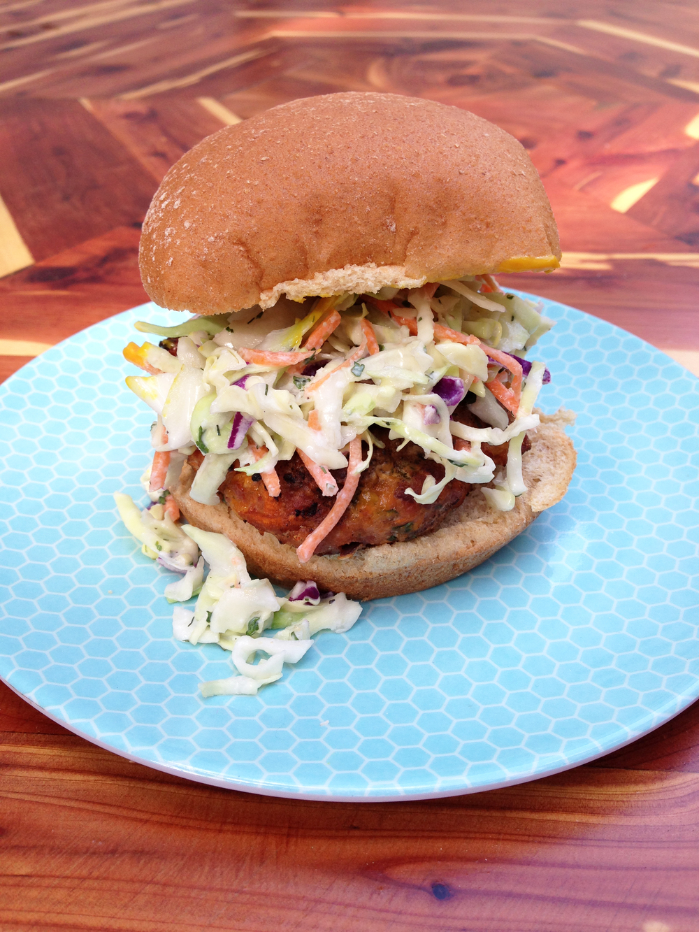 These aren't your average turkey burgers. They have a spicy kick that ...