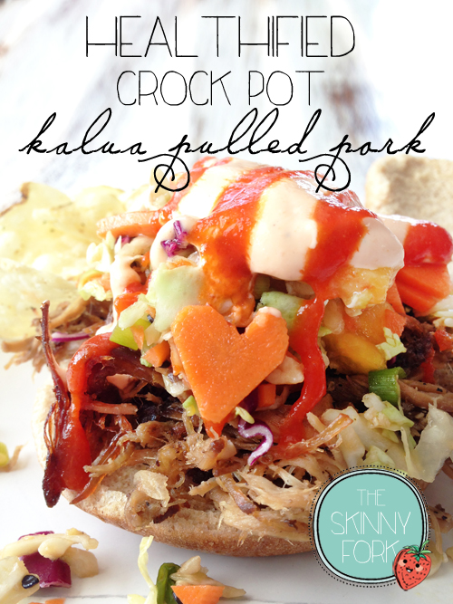 Healthified Crock Pot Kalua Pork — The Skinny Fork