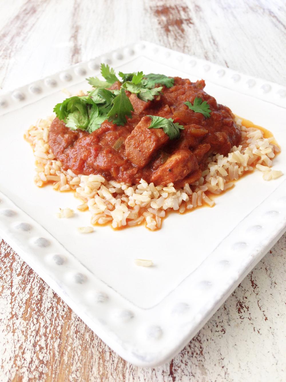 Skinny Crock Pot Chicken Tikka Masala — The Skinny Fork